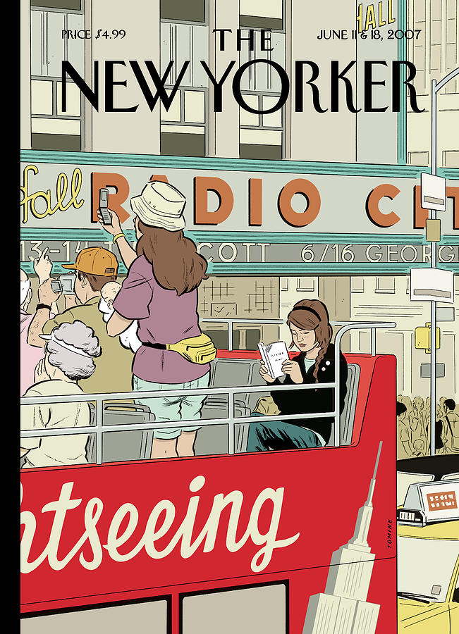 Big City Thrills Painting by Adrian Tomine