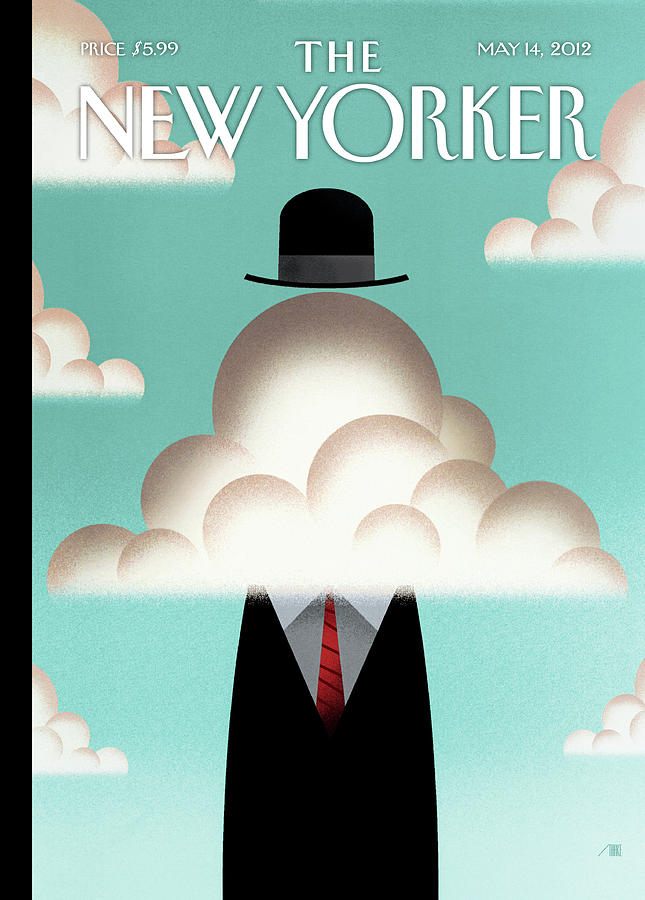 The Cloud Painting by Bob Staake