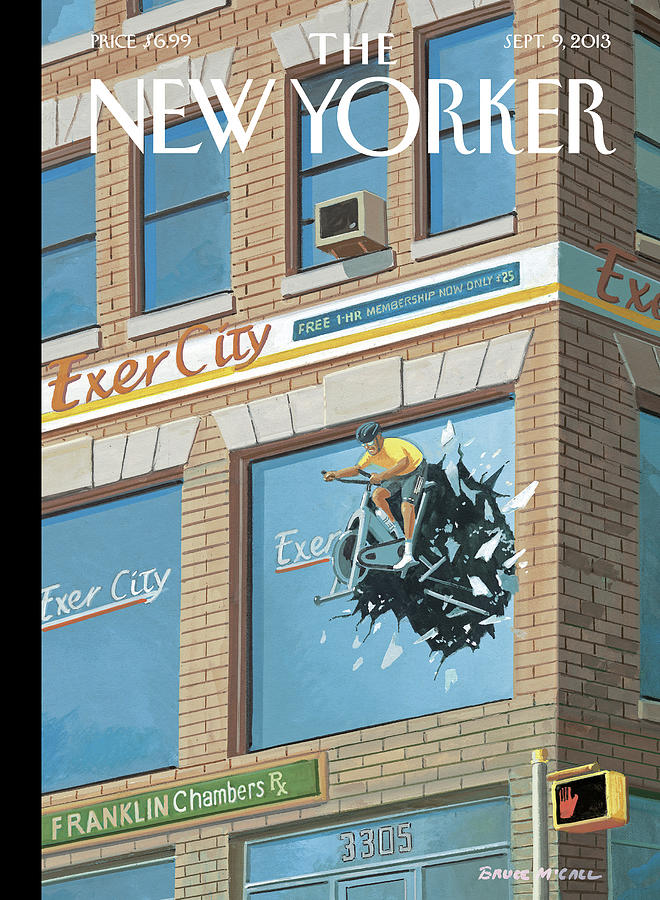 New Yorker September 9th, 2013 Painting by Bruce McCall