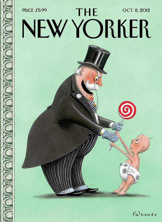 New Yorker October 8th, 2012 Painting by Ian Falconer