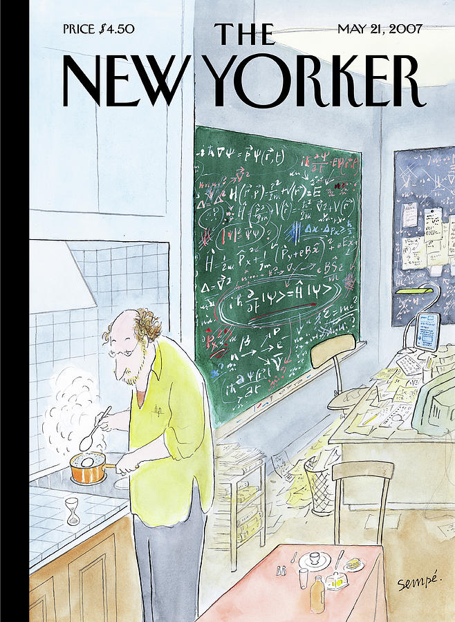 New Yorker May 21st, 2007 Painting by Jean-Jacques Sempe