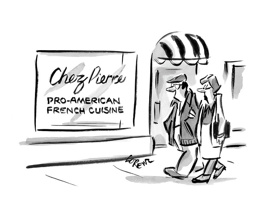 New Yorker May 21st, 2007 Drawing by Lee Lorenz
