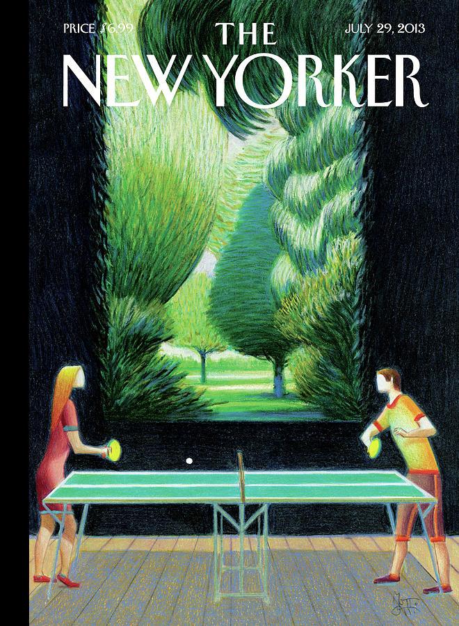 New Yorker July 29th, 2013 Painting by Lorenzo Mattotti