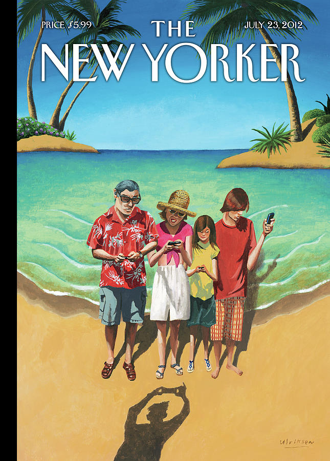 New Yorker July 23rd, 2012 Painting by Mark Ulriksen