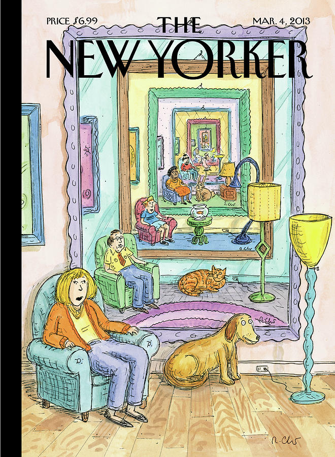 New Yorker March 4th, 2013 Painting by Roz Chast