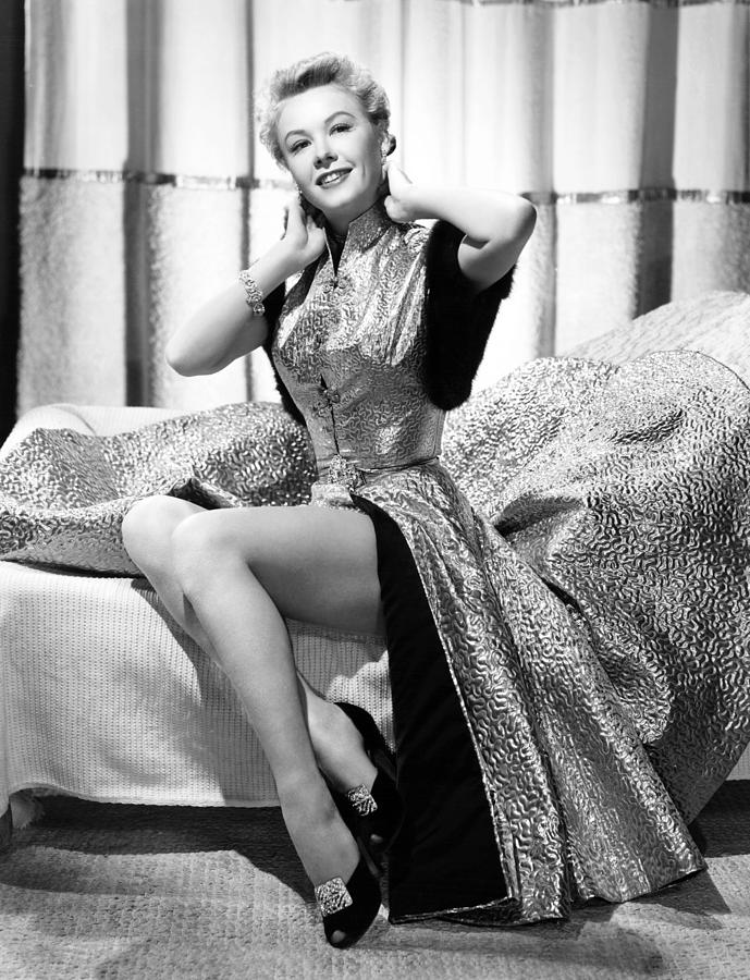 1950s Fashion Photograph - Vera-ellen, Ca. Early 1950s by Everett