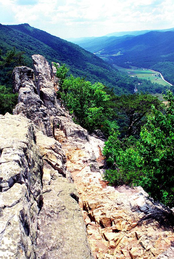 West Virginia Photograph - View From Atop Seneca Rocks by Thomas R Fletcher