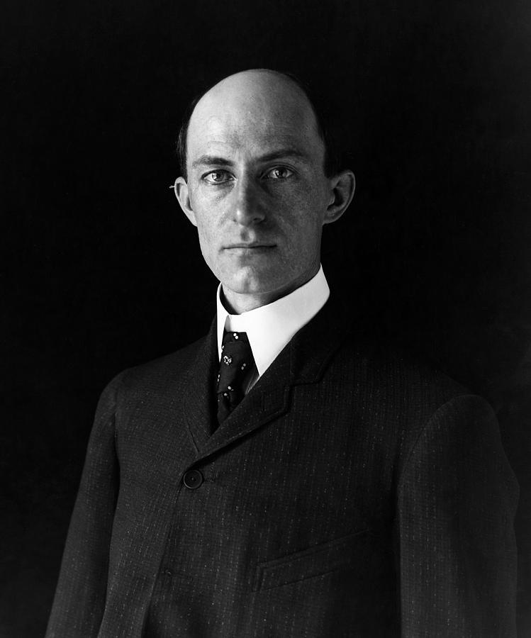 1903 Photograph - Wilbur Wright (1867-1912) by Granger