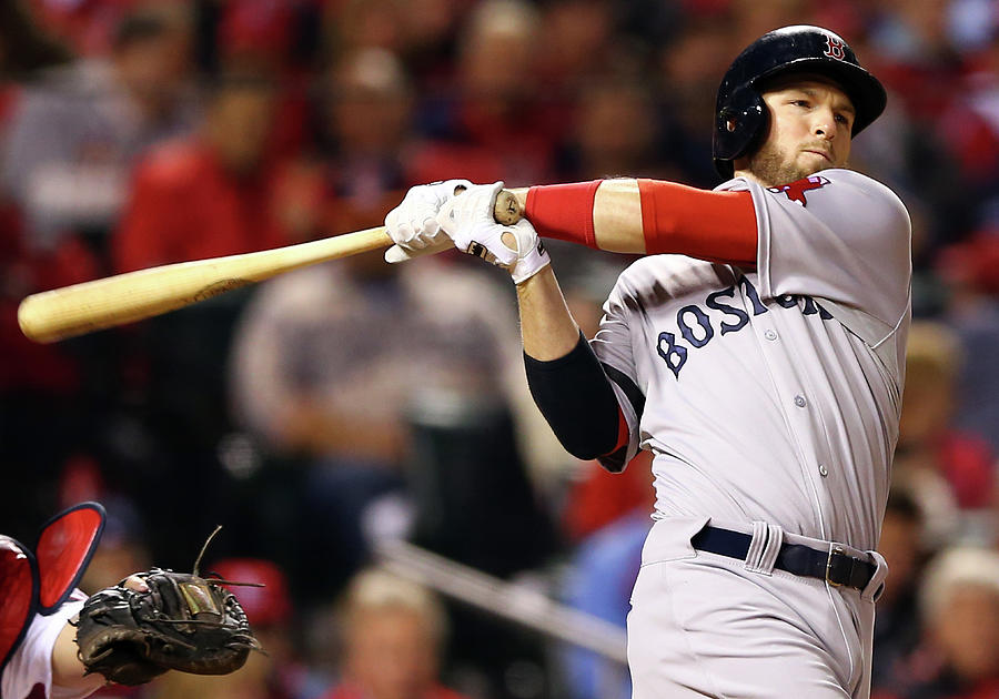 World Series - Boston Red Sox V St 4 Photograph by Elsa