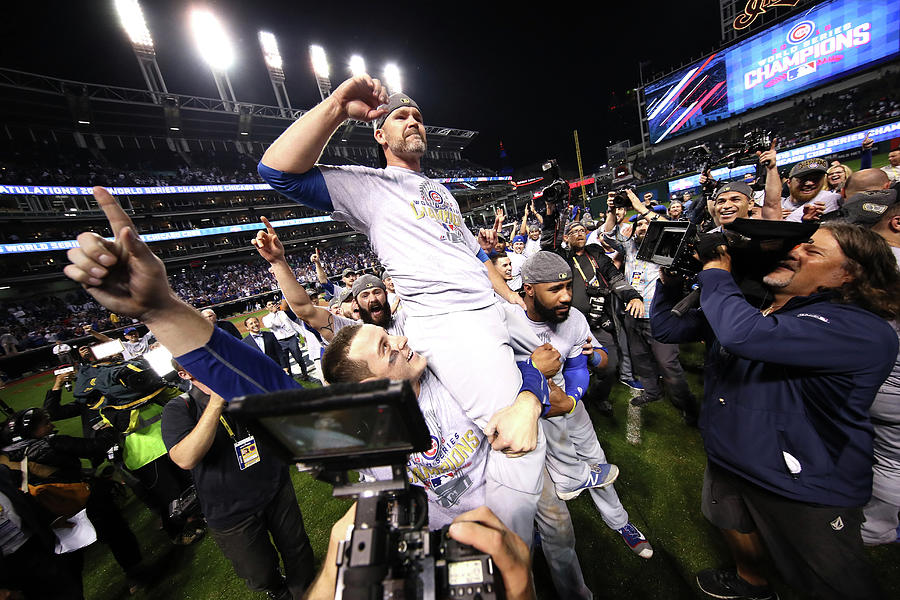 World Series - Chicago Cubs V Cleveland 4 Photograph by Ezra Shaw