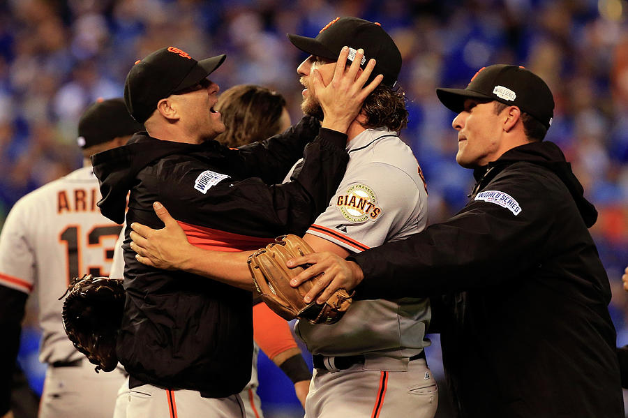 World Series - San Francisco Giants V 4 Photograph by Jamie Squire