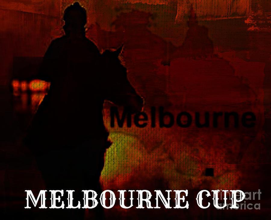 Melbourne Cup Digital Art - Melbourne Cup by Meiers Daniel