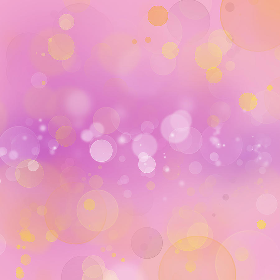 Blurry Digital Art - Abstract Background by Les Cunliffe