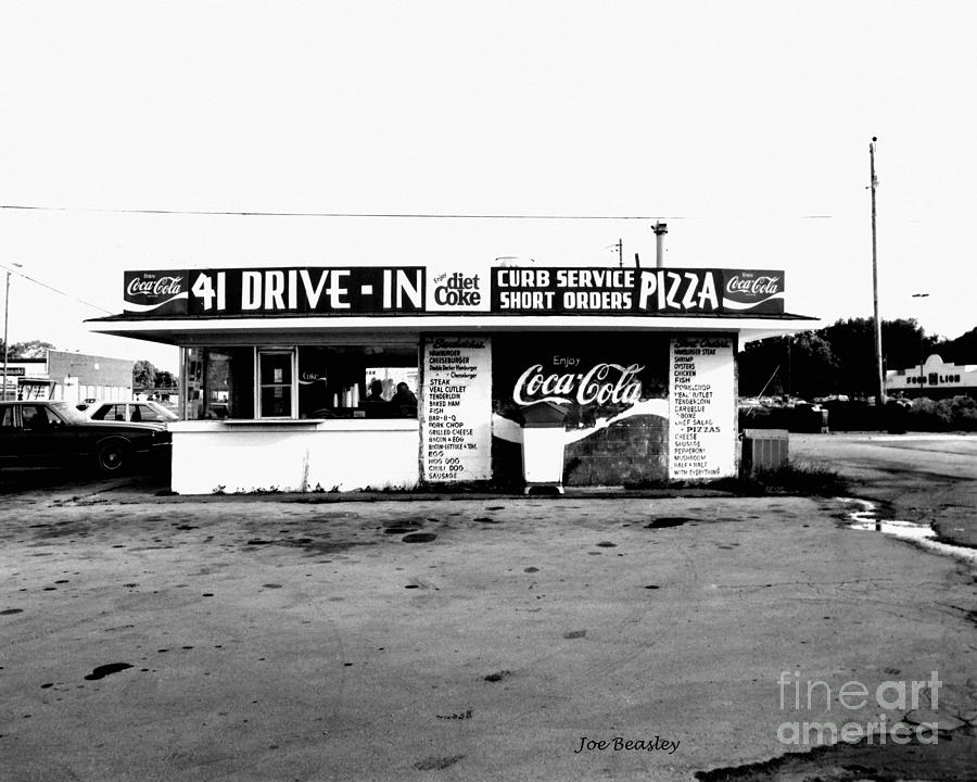 Cafe Photograph - 41 Drive In-manchester Tennessee by   Joe Beasley