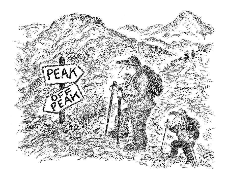 New Yorker April 18th, 2005 Drawing by Edward Koren