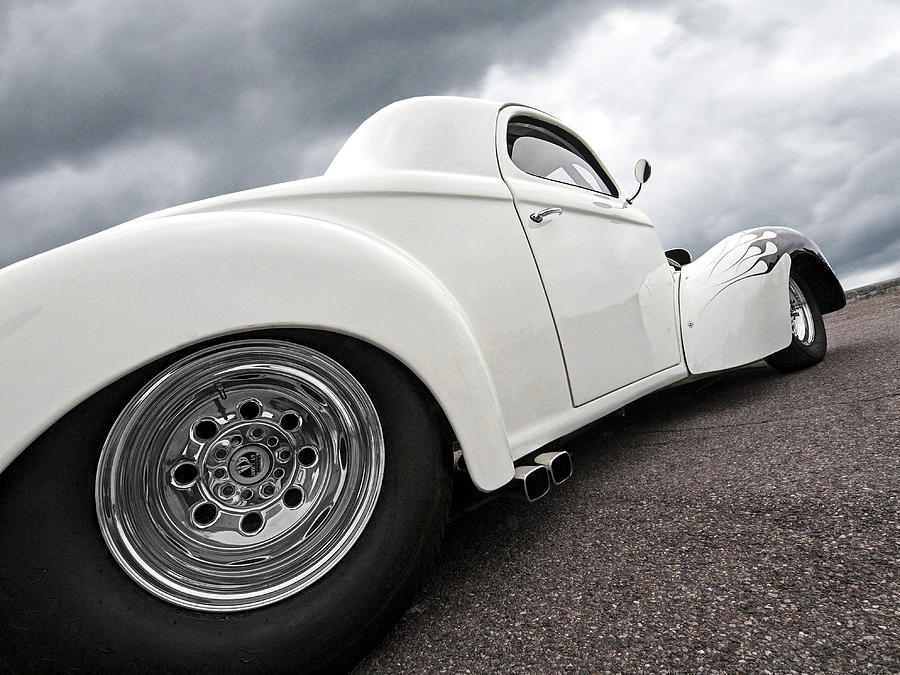 Hotrod Photograph - 41 Willys Coupe by Gill Billington