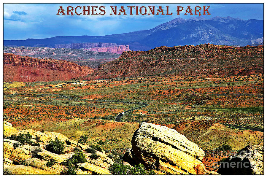Arches Photograph - Arches National Park by Sophie Vigneault