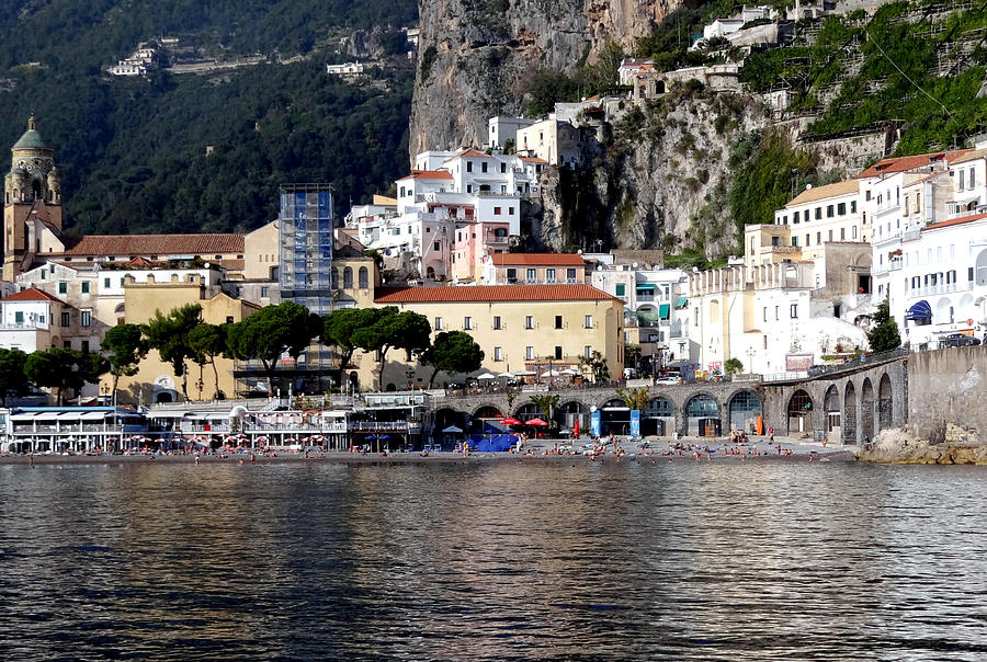 Amalfi Coast Photograph - Views From The Amalfi Coast In Italy by Richard Rosenshein
