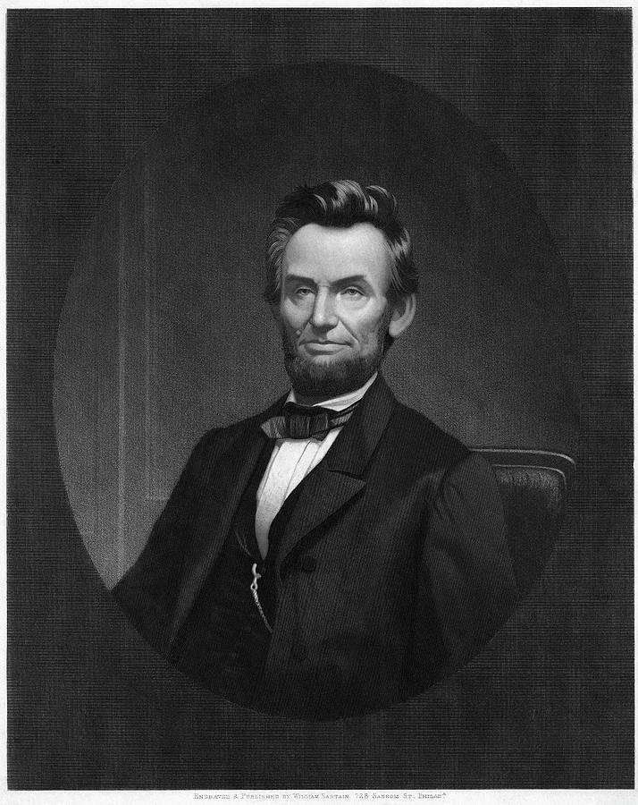1865 Painting - Abraham Lincoln (1809-1865) by Granger