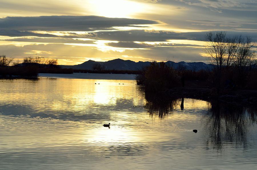 Sunset Photograph - 4490 by Robert Reese