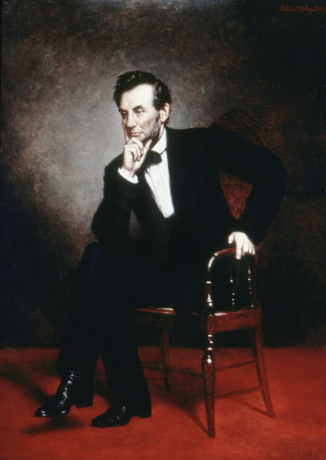 1860 Painting - Abraham Lincoln (1809-1865) by Granger
