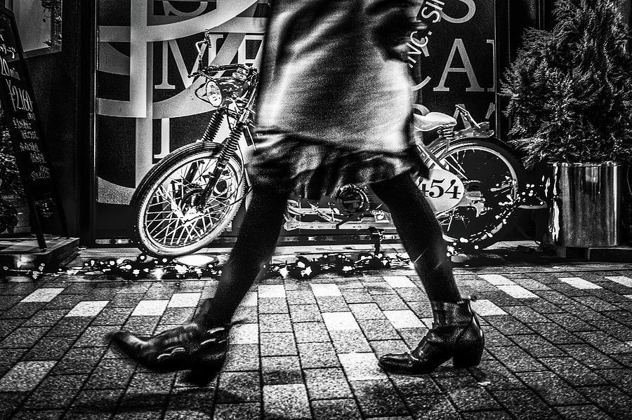 Street Photograph - 454 by Alighieri120