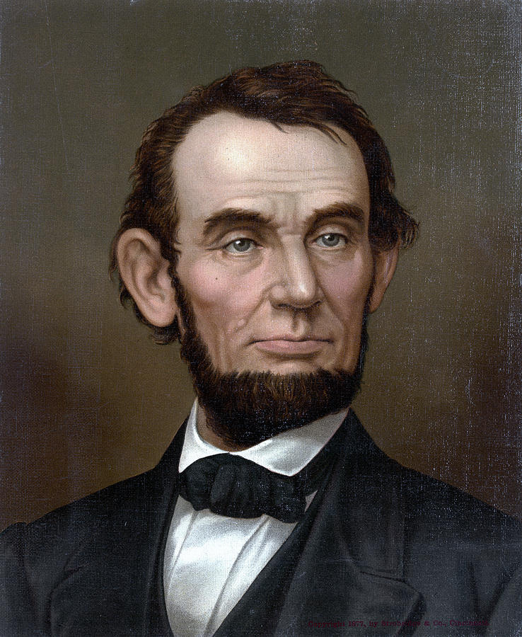 1870 Painting - Abraham Lincoln (1809-1865) by Granger