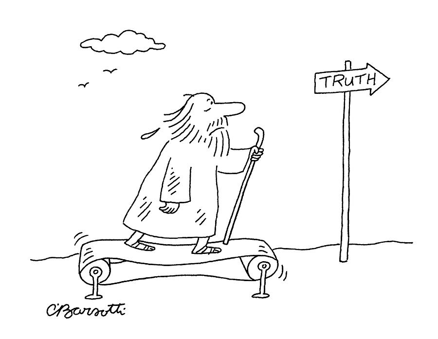 New Yorker April 16th, 2007 Drawing by Charles Barsotti