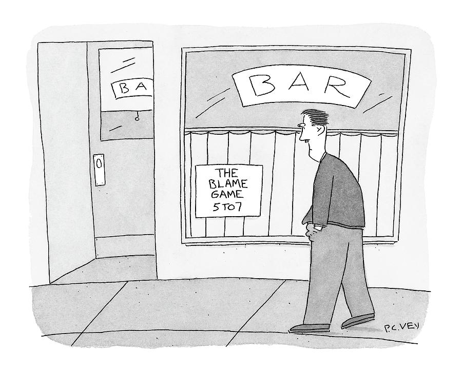 New Yorker October 24th, 2005 Drawing by Peter C. Vey