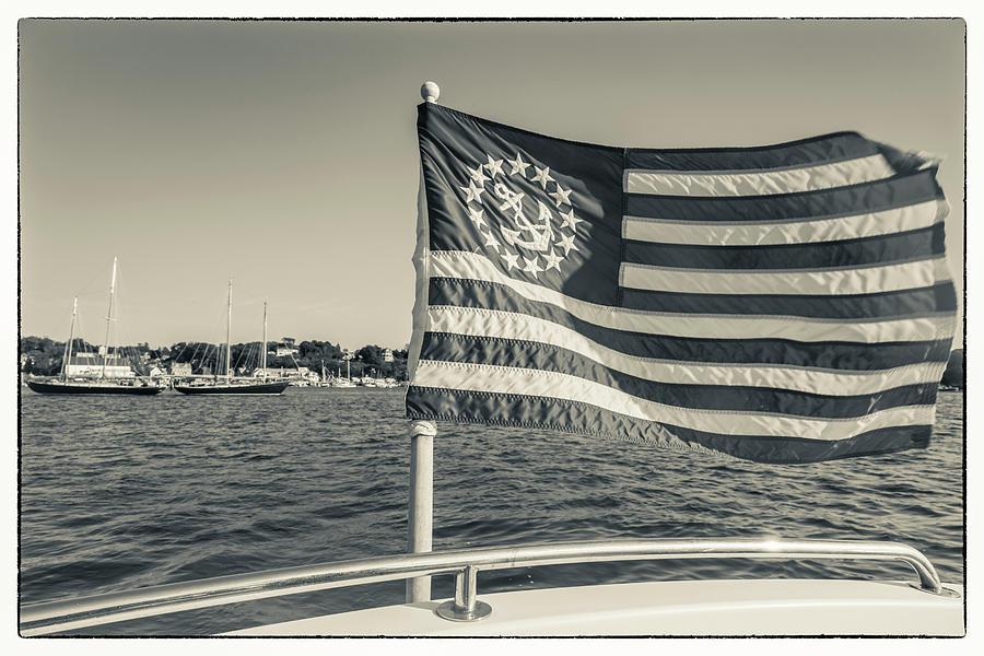 Black And White Photograph - Usa, Massachusetts, Cape Ann by Walter Bibikow