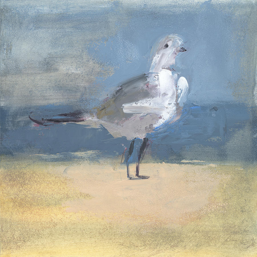Seagull Painting - Rcnpaintings.com by Chris N Rohrbach