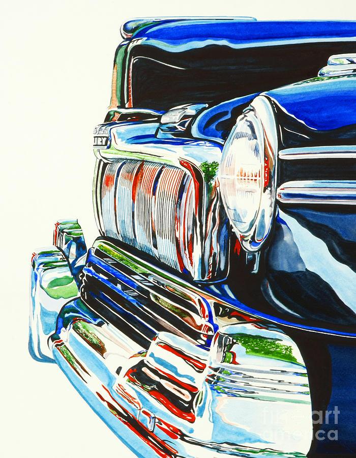 Mercury Painting - 47 Mercury by Rick Mock