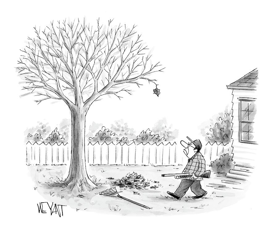 New Yorker November 27th, 2006 Drawing by Christopher Weyant