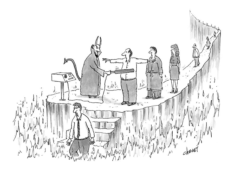 New Yorker March 7th, 2005 Drawing by Tom Cheney