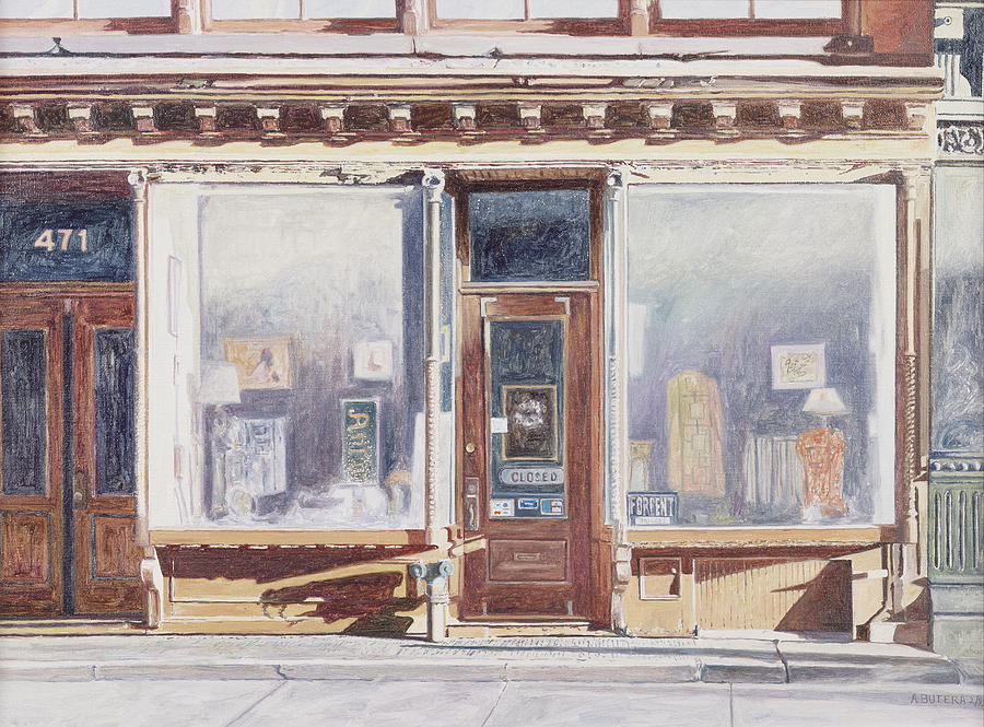 Out Of Business Painting - 471 West Broadway Soho New York City by Anthony Butera
