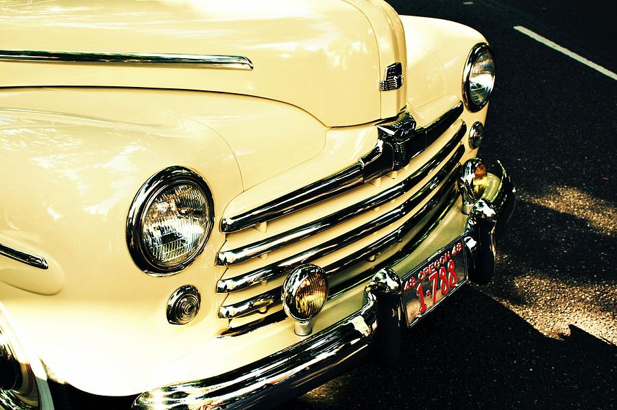 Cars Photograph - 48 Ford by Cathie Tyler