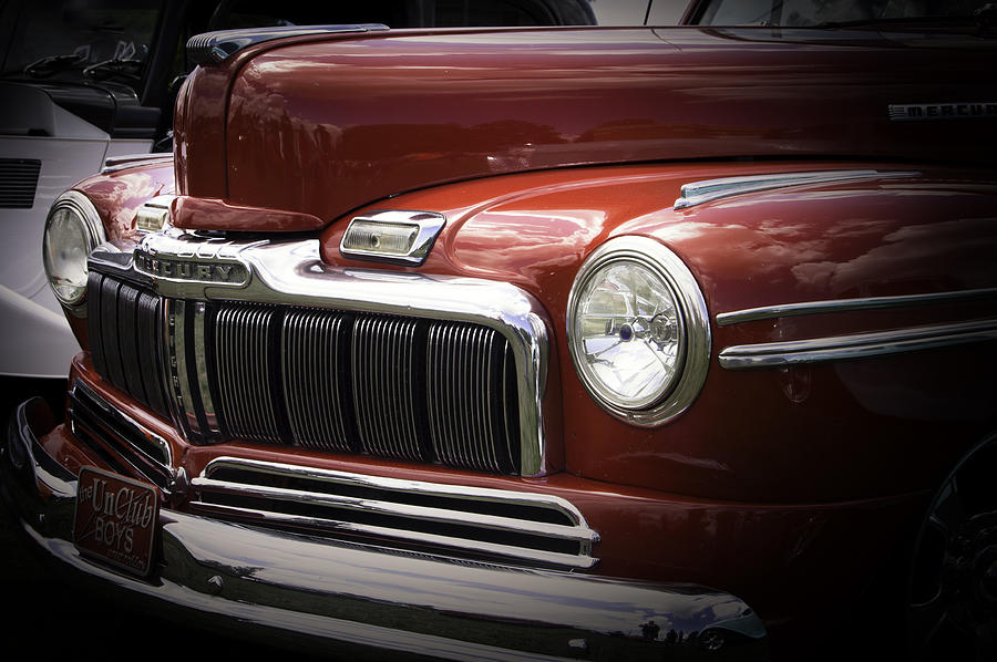 Collectible Photograph - 48 Merc by Ron Roberts