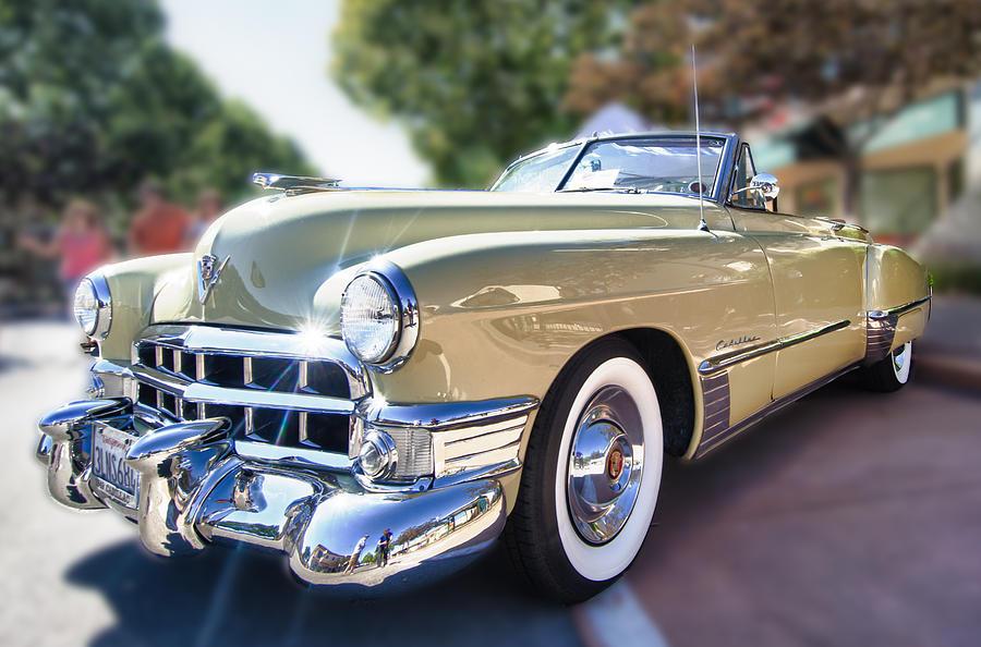 Charles Thompson Photograph - 49 Cadillac Convertible by Robert Rus