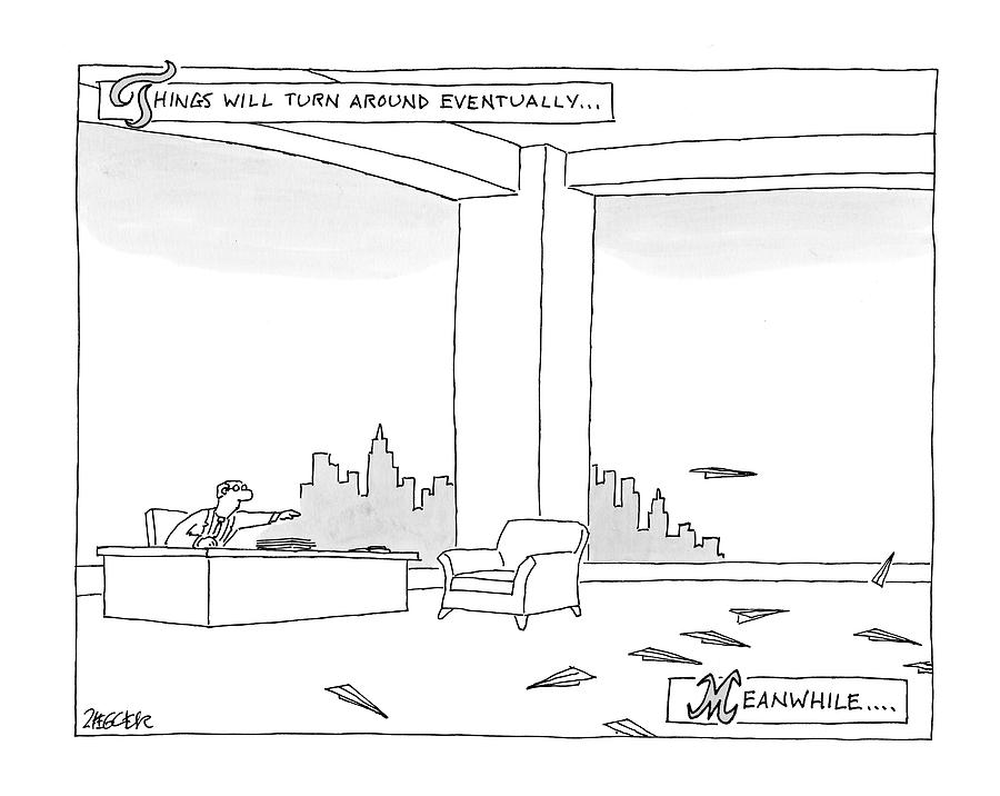 New Yorker June 29th, 2009 Drawing by Jack Ziegler