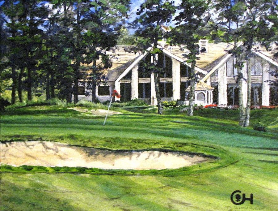 Golf Painting - 4th Andrew Hudson Memorial Golf Tournament by Kevin F Heuman