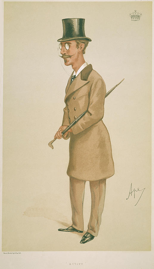 19th Century Painting - 4th Earl Of Dunhaven, Amd Mount-earl by Granger
