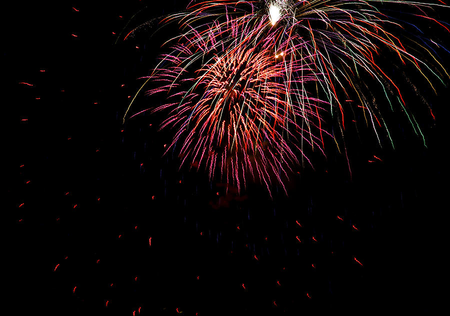 Fireworks Photograph - 4th Of July 9 by Marilyn Hunt