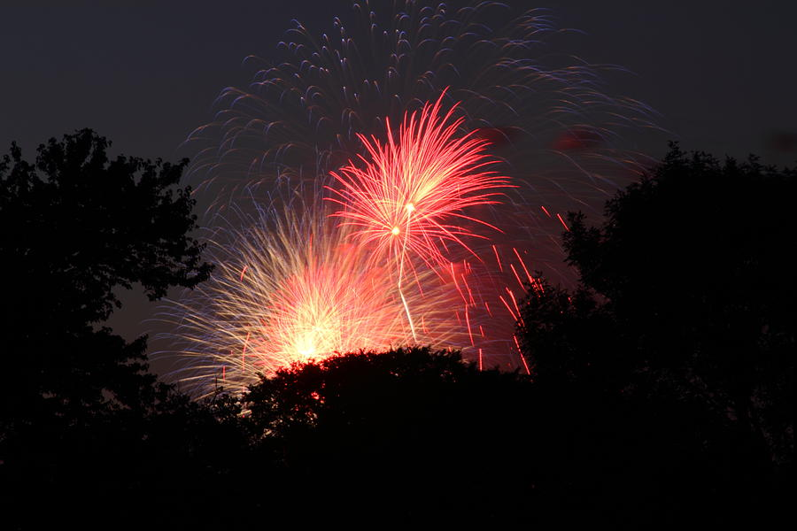 Washington Photograph - 4th Of July Fireworks - 01131 by DC Photographer
