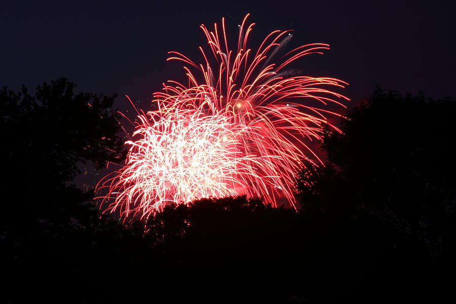 Washington Photograph - 4th Of July Fireworks - 011311 by DC Photographer