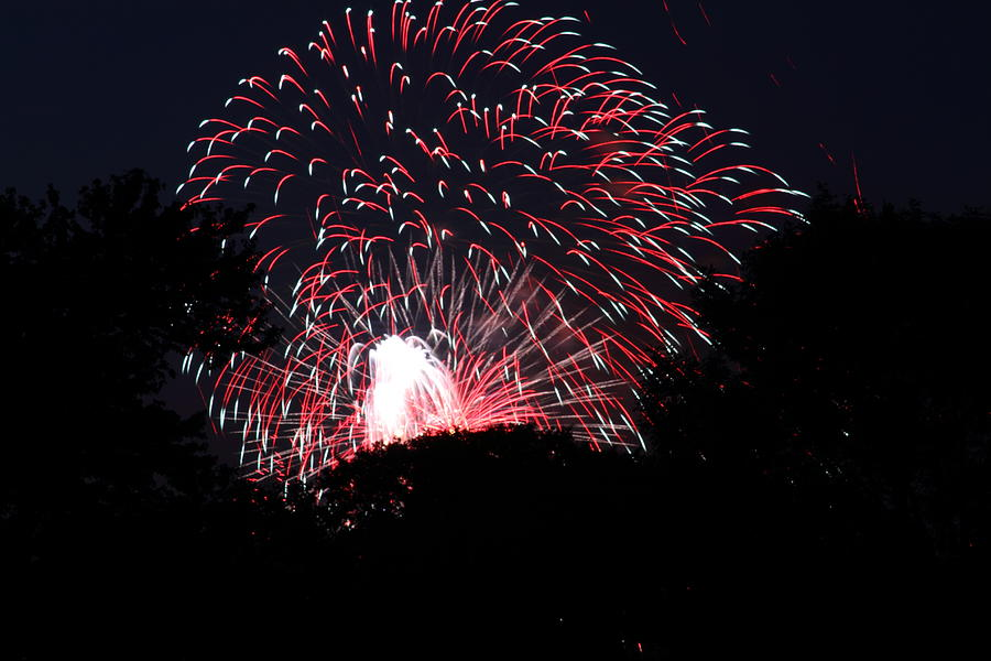Washington Photograph - 4th Of July Fireworks - 011312 by DC Photographer