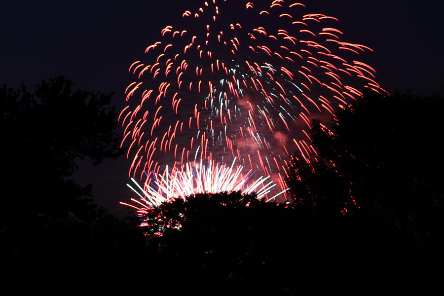 Washington Photograph - 4th Of July Fireworks - 011313 by DC Photographer