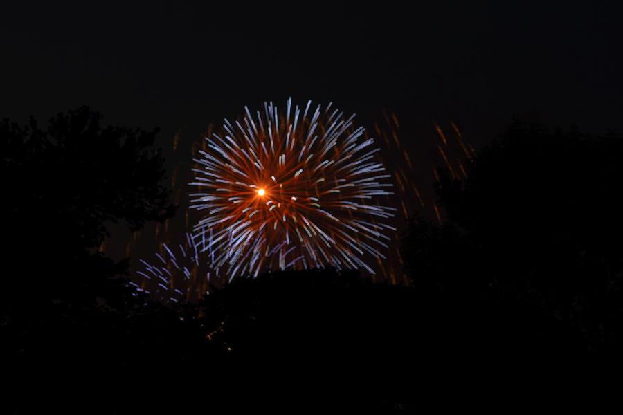 Washington Photograph - 4th Of July Fireworks - 011314 by DC Photographer