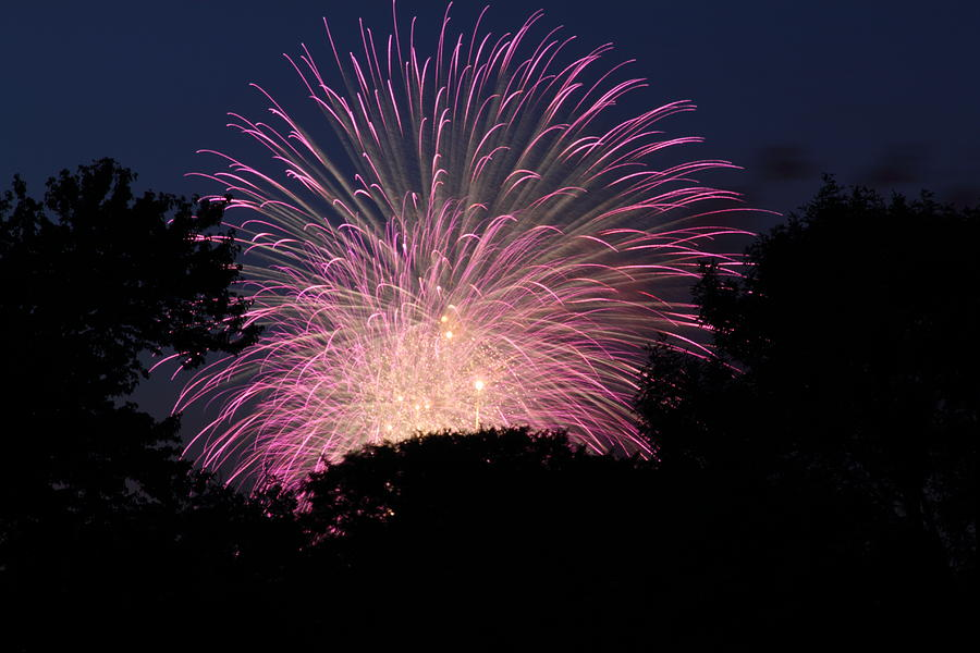 Washington Photograph - 4th Of July Fireworks - 01132 by DC Photographer