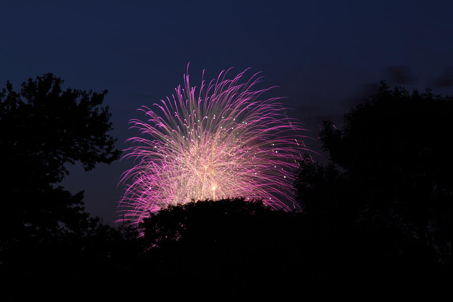 Washington Photograph - 4th Of July Fireworks - 01133 by DC Photographer