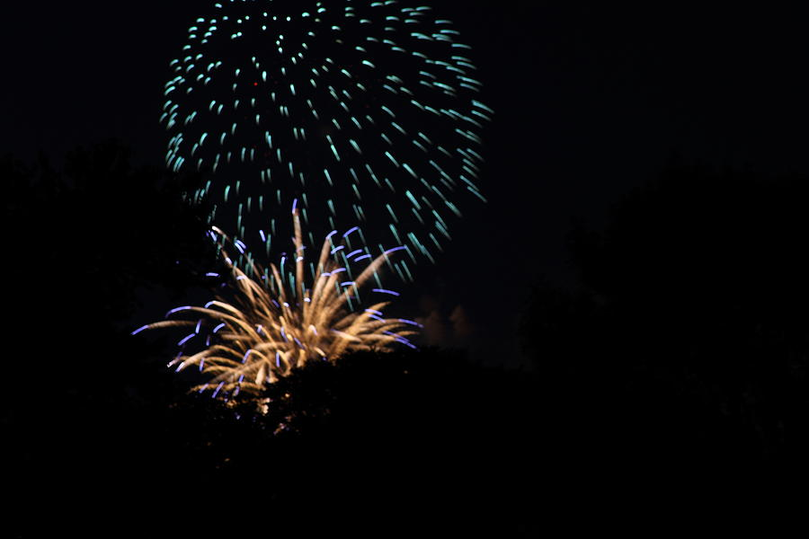 Washington Photograph - 4th Of July Fireworks - 011330 by DC Photographer